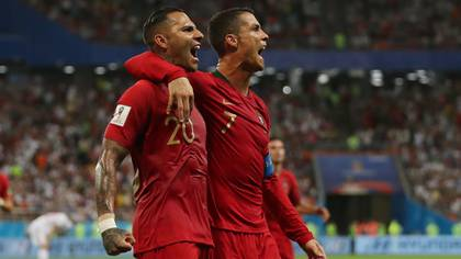 Cristiano Ronaldo and Ricardo Quaresma shared the various parties in the selection of Portugal (Reuters)