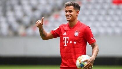 El brasileño se sumó al Bayern Múnich y buscará ser protagonista de la Bundesliga (Foto:REUTERS/Michael Dalder)