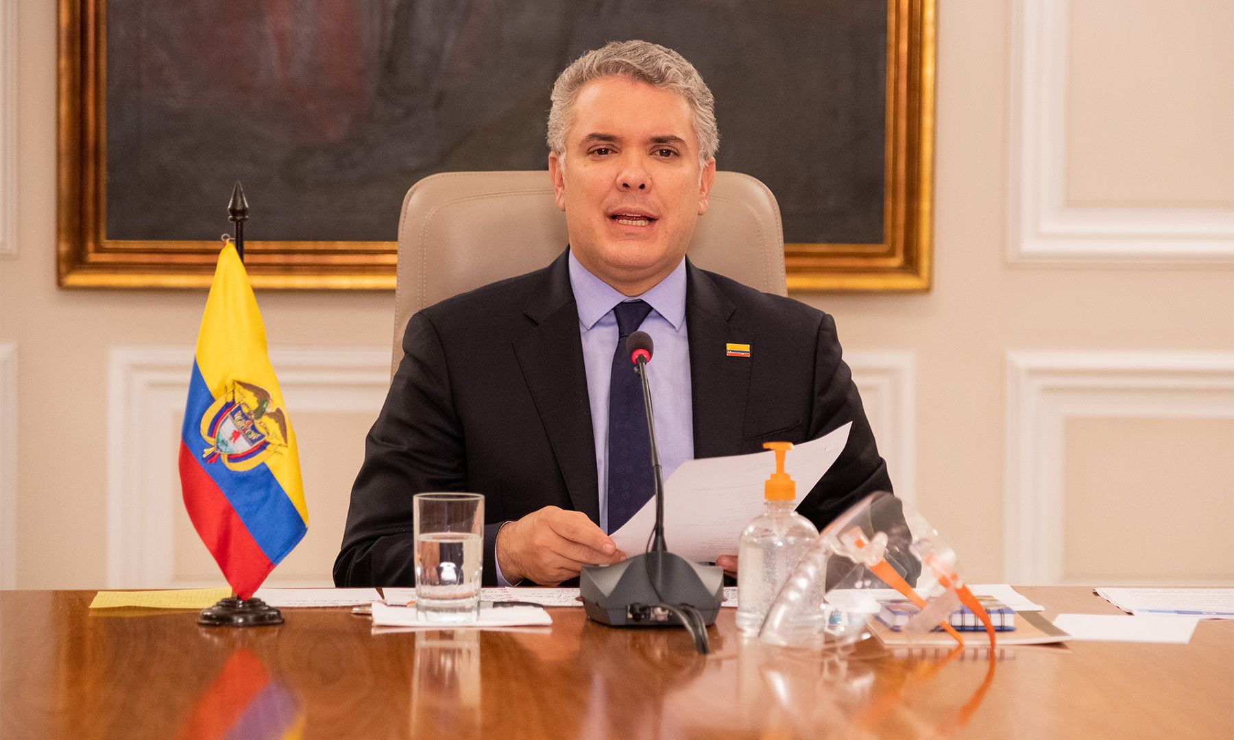 Cesar Castro Rodríguez no es un diplomático de carrera en Colombia. Foto: Presidencia