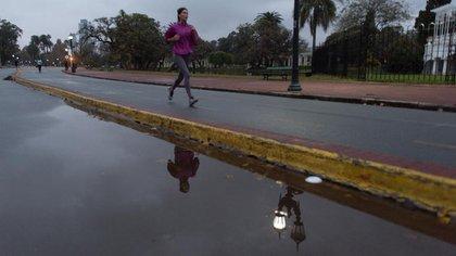 La cantidad de corredores fue bajando con el pasar de los días (Adrián Escandar)