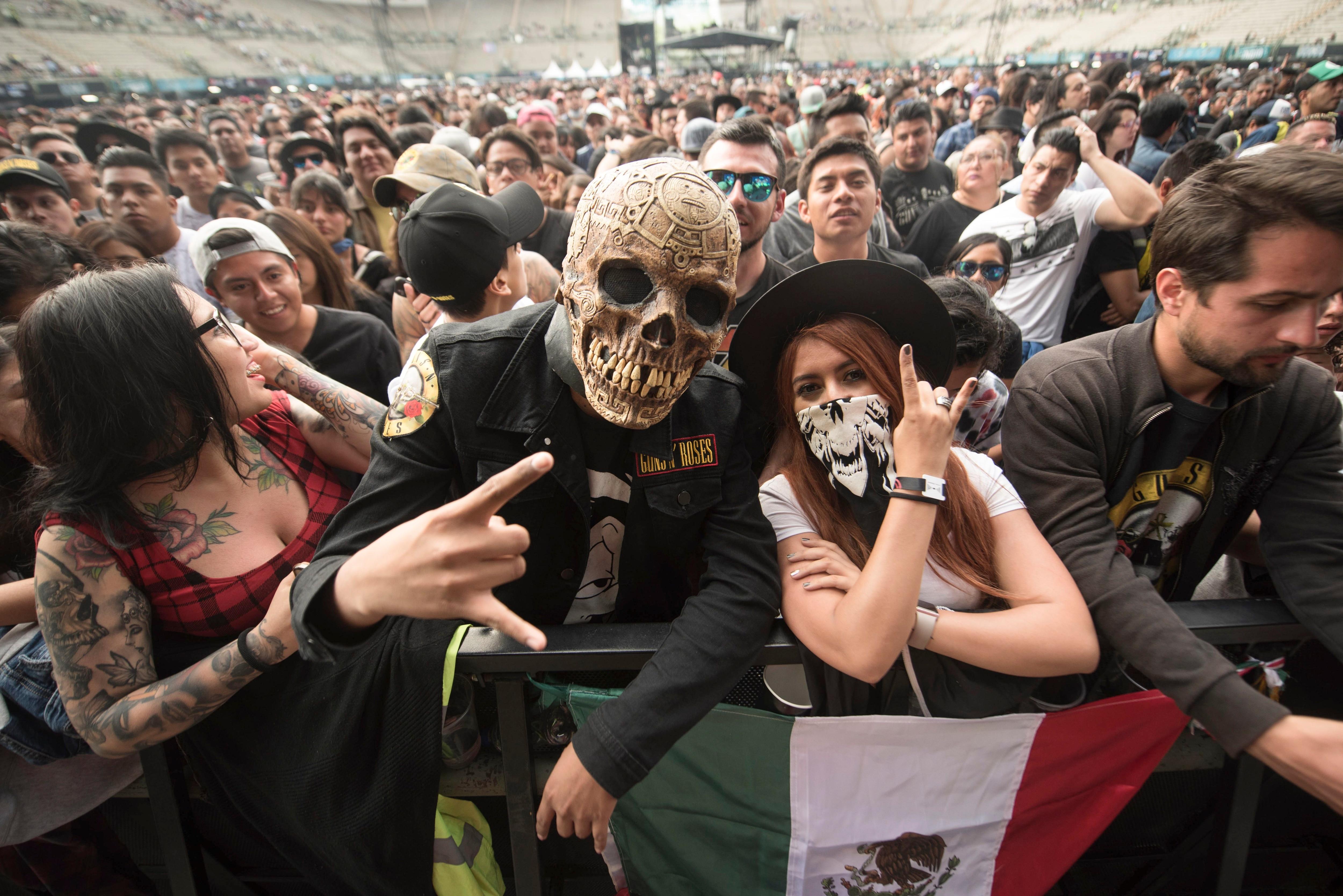 El Festival Iberoamericano de Cultura Musical Vive Latino comenzó a lanzar pistas de su próximo cartel para la edición 2022 (Photo by Alejandro MELENDEZ / AFP)