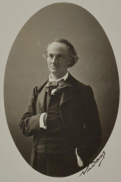 Charles Baudelaire, en 1862 (Foto: Nadar / Wikipedia)