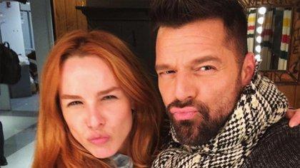 Eglantina Zingg y Ricky Martin mantienen una relación cercana desde hace muchos años (Foto: Instagram@eglantinazingg)