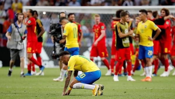 Bélgica dejó en el camino a Brasil, el gran candidato (Reuters)