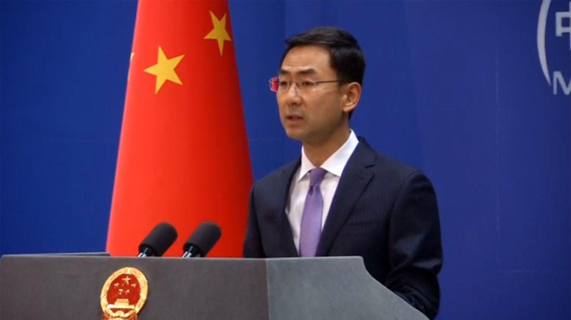 Geng Shuang, portavoz del ministerio asuntos exteriores de China (Reuters)