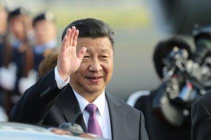 Xi Jinping, presidente de China, quiere mejorar la imagen de su país tras ser la fuente del coronavirus y ocultar al resto de los países la letalidad de la enfermedad (DPA)