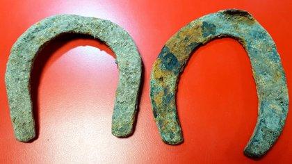 Las herraduras datan de finales de 1800 y principios de 1900 (Crédito: Prensa River)