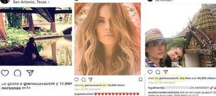 El italiano persigue las fotos de la conductora desde Texas hasta tierras exóticas. (Fotos: Instagram, El Debate)