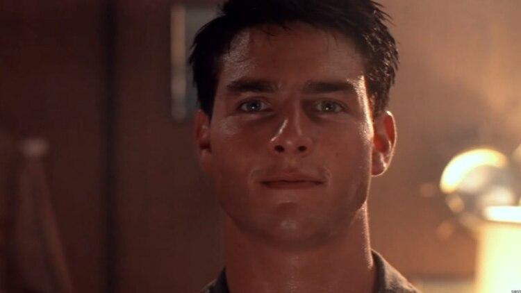 """""""Top Gun"""" se estrenó en 1986 y tuvo a Tom Cruise y Kelly McGilli como protagonistas (Foto: Captura de Pantalla)"""