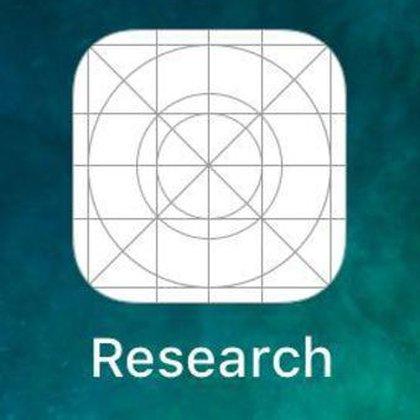 El ícono de Facebook Research, la app en el centro de la polémica entreTim Cook y Mark Zuckerberg.