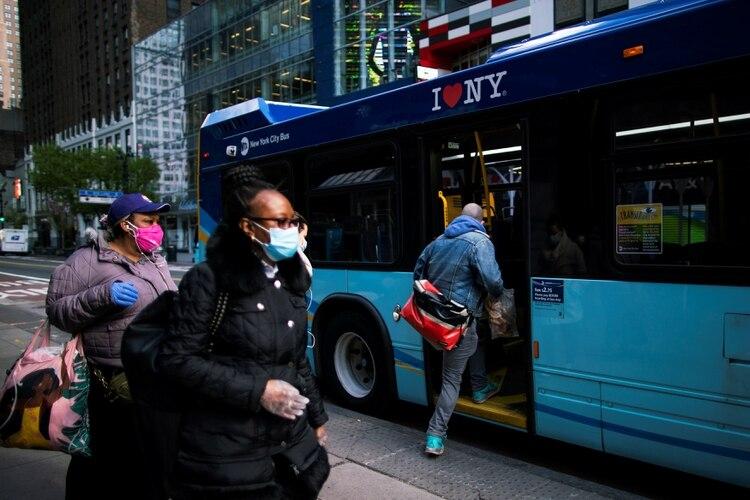 Nueva York es el estado más afectado por el coronavirus en EEUU (REUTERS/Eduardo Munoz)