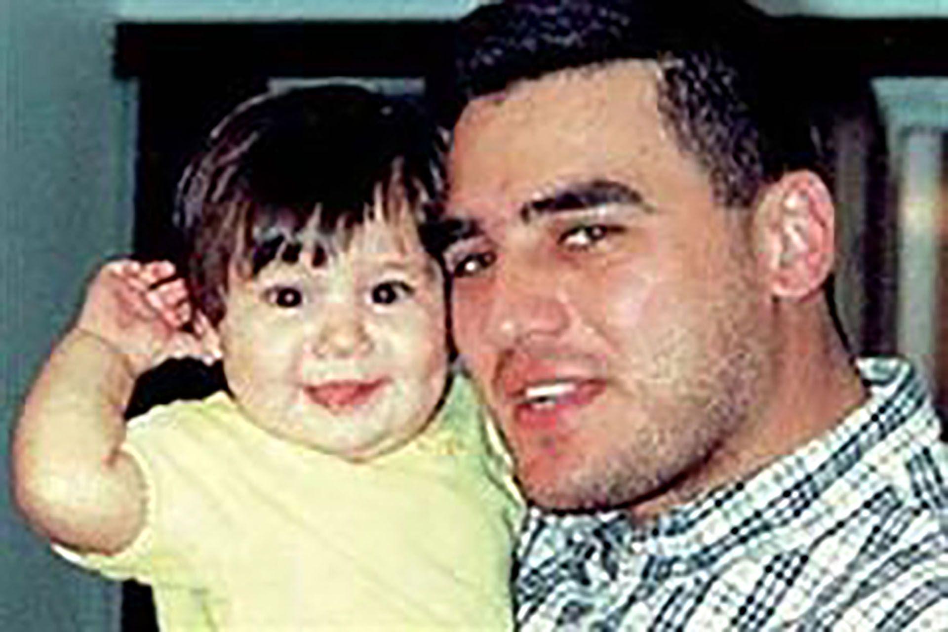 Mario Santoro con su hija Sofía