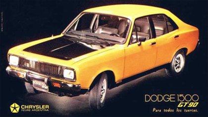 La versión GT-90, con look deportivo, que apareció en 1974.