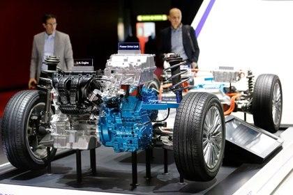 La ingeniería eléctrica de Mitsubishi Motors fue exhibida en el 89°Salón del Automóvil de Ginebra