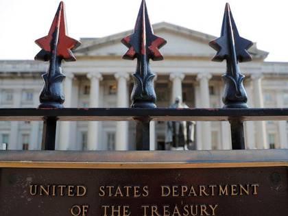 Foto de archivo. La sede del Departamento del Tesoro de Estaods Unidos en Washington. 6 de agosto de 2018. REUTERS/Brian Snyder.