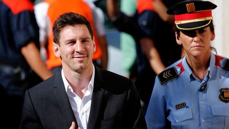 Lionel Messi tuvo problemas con Hacienda