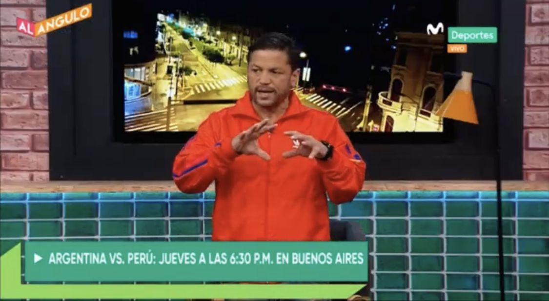 Pedro García se refirió el desempeño que espera del guardameta nacional en el encuentro ante Argentina por Eliminatorias. Foto: Captura Movistar Deportes
