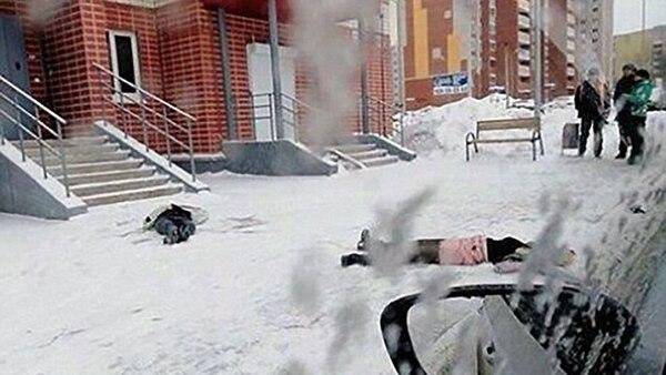Anastasia y Maria fueron halladas muertas en el pavimento de la calle
