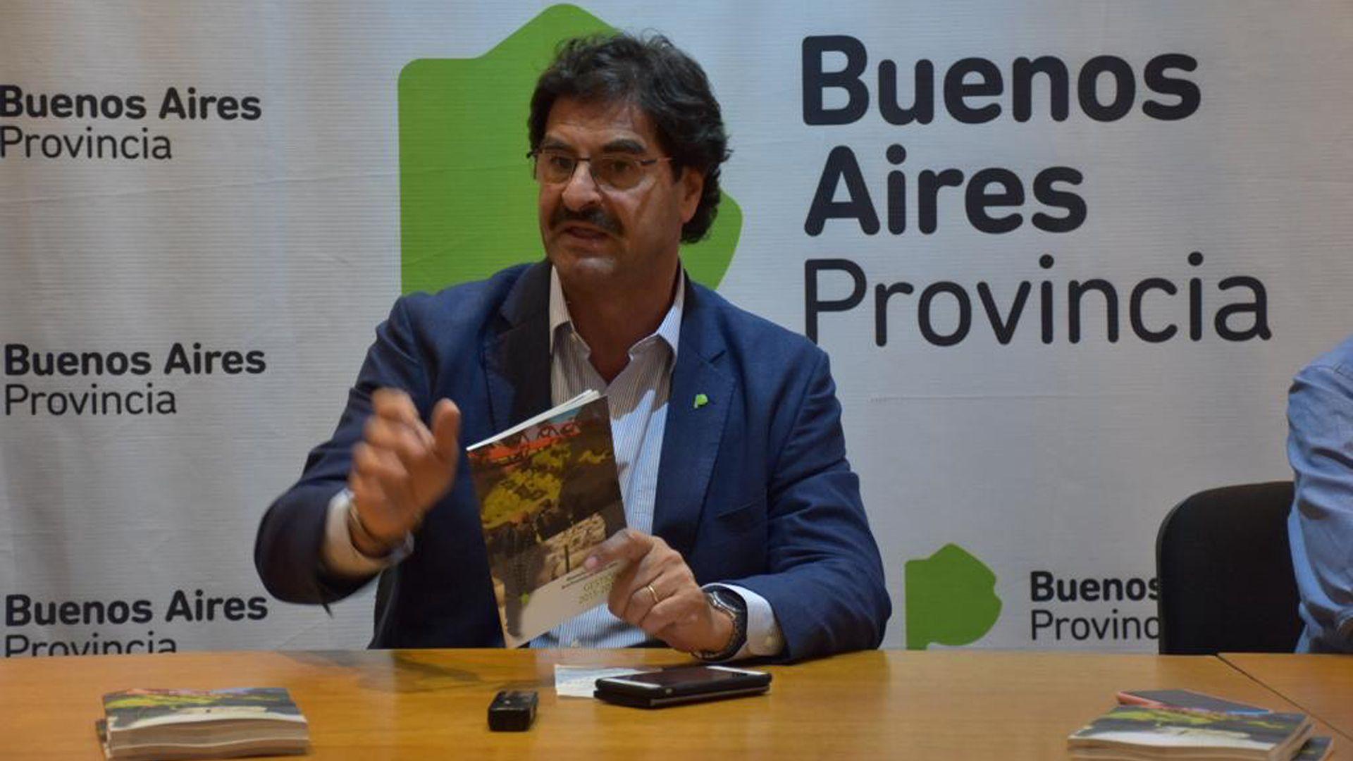 Leonardo Sarquís, ex ministro de Agroindustria bonaerense