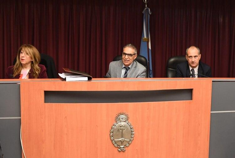 Los jueces del TOC N°12 que juzga a Fabbro.