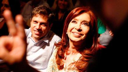 Axel Kicillof y Cristina KIrchner