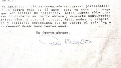 Carta de Mestre