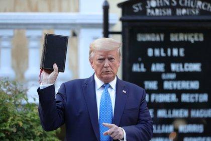 El presidente de los Estados Unidos, Donald Trump. Foto: REUTERS/Tom Brenner