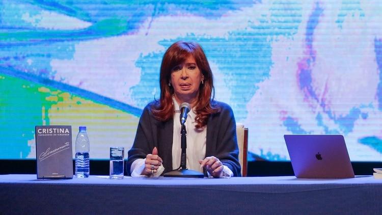 La senadora en Mar del Plata