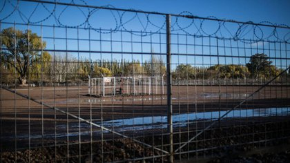 El pozo AP.RN.EFE 141 está a unos 75 metros de la casa de la familia Ibáñez (Greenpeace)