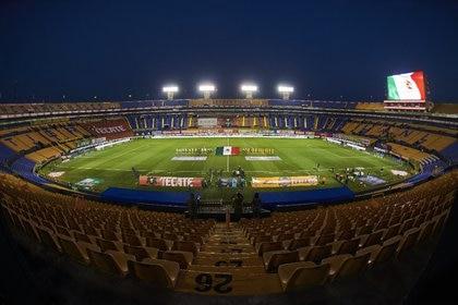 El Estadio BBVA de Rayados y el Estadio Universitario de Tigres podrán tener gente a partir del 10 de abril (Foto: Cortesía/Club Tigres)