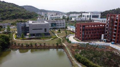 El Instituto de Virología, en la ciudad donde brotó la pandemia (AFP)