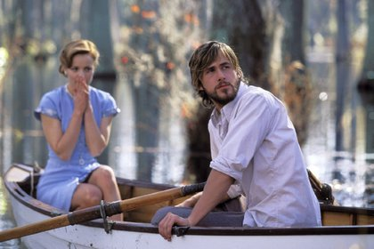 Ryan Gosling y Rachel McAdams en Diario de una pasión