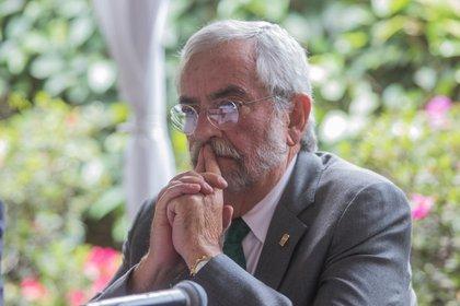 CIUDAD DE MÉXICO, 23JULIO2019.- Enrique Graue, rector de la UNAM implementa medidas de empleo para los estados del sur (FOTO: ISAAC ESQUIVEL /CUARTOSCURO.COM)