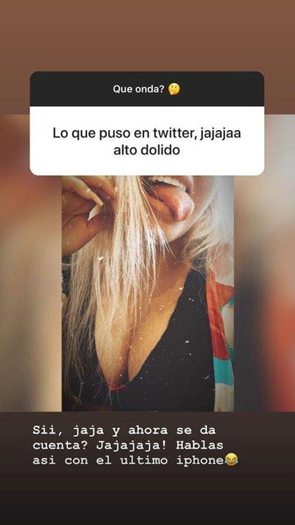 La contundente respuesta de la hija de Jorge Rial (Foto: Instagram)