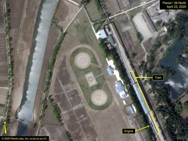 La formación privada de Kim Jong-Un mide 250 metros