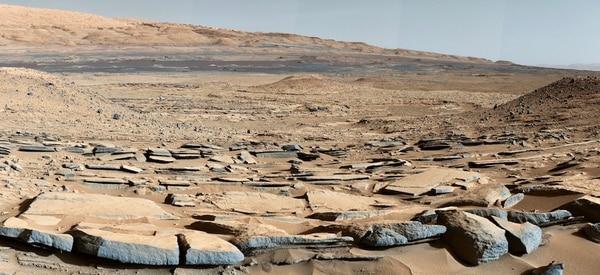 La superficie del planeta rojo es árida y las condiciones de vida no prosperan en su atmósfera
