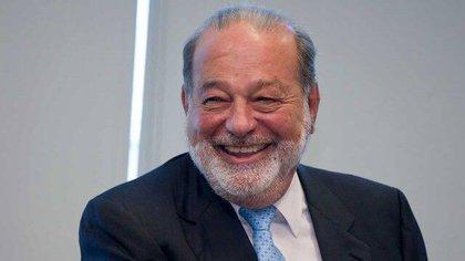 El empresario Carlos Slim, presidente de Grupo Carso, anunció que participará en licitaciones del Tren Maya (Foto: Archivo)