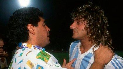 Maradona y García eran amigos