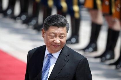 El presidente chino Xi Jinping en Beijing el 15 de mayo de 2019 (REUTERS/Jason Lee/File Photo)