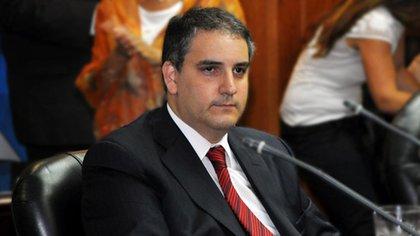 Germán Krieger, ex administrador general del Poder Judicial. Consejo de la Magistratura 162