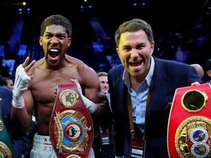 Anthony Joshua peleará el próximo 12 de diciembre (Foto: Reuters/Andrew Couldridge/File Photo)