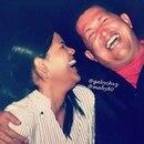 Hugo Chávez y su hija mayor, María Gabriela. (Foto: Instagram)