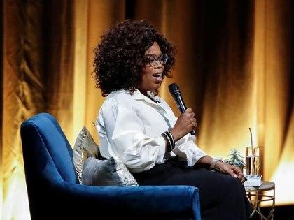 Oprah Winfrey en el United Center en Chicago, Illinois, Estados Unidos, 13 de noviembre de 2018. REUTERS/Kamil Krzaczynski