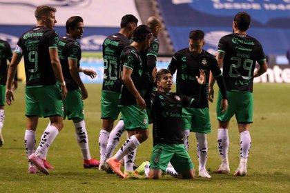 Santos consiguió un gran triunfo contra Puebla la jornada pasada (Foto: Cortesía del Club Santos)