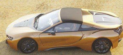BMW i8 es un modelo híbrido considerado un vehículo de lujo (Foto: bmw.com.mx)