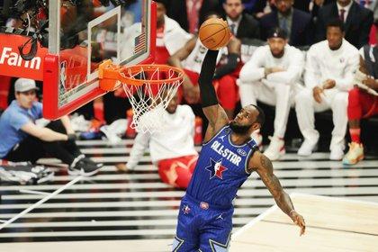 LeBron James ganó una vez más el All-Star Game (USA TODAY Sports)