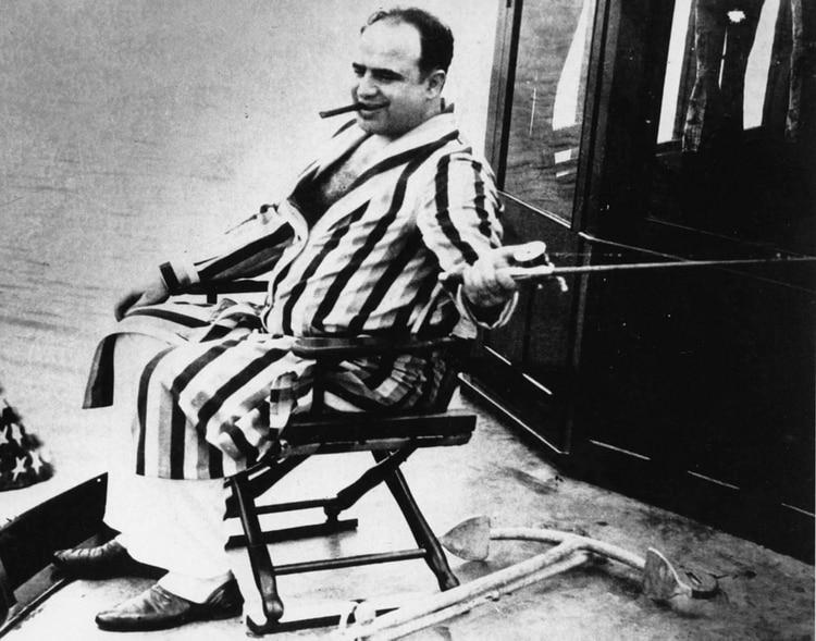 Capone solía aparecer con frecuencia en los medios de su época