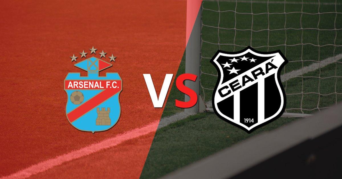 Arsenal recibirá a Ceará por la Grupo C - Fecha 2 - Infobae