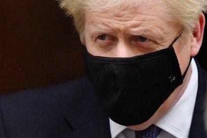 Boris Johnson en Downing Street. REUTERS/Toby Melville