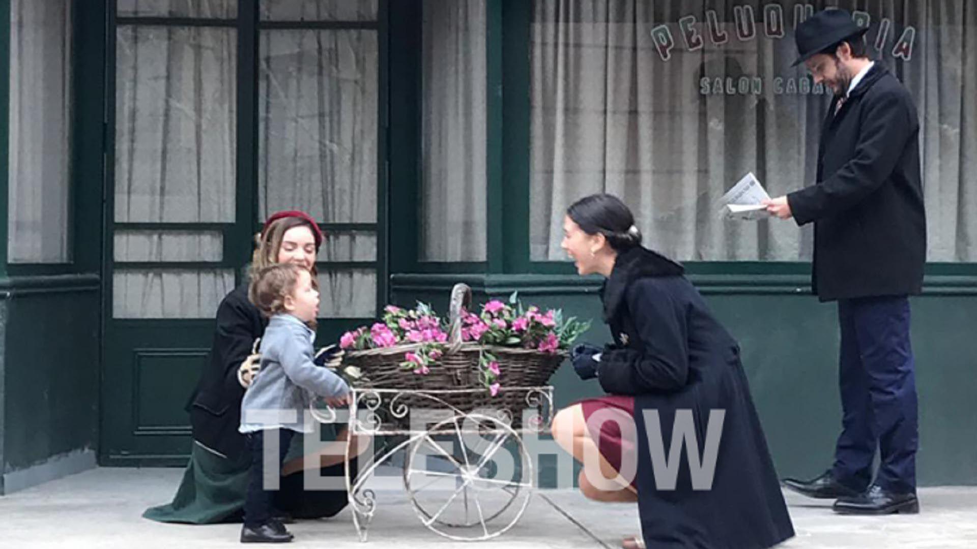 En la ficción, Macarena Paz interpreta a la niñera de Pedro, el hijo de Lucía (Delfina Chaves)